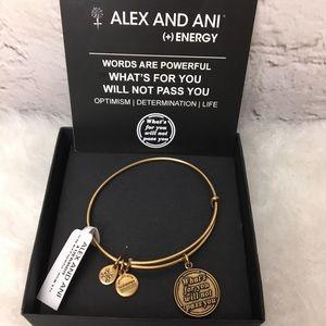 Alex & Ani Words are Powerful Bangle Bracelet